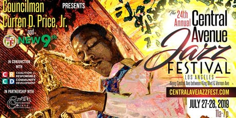 24th Annual Central Avenue Jazz Festival tickets