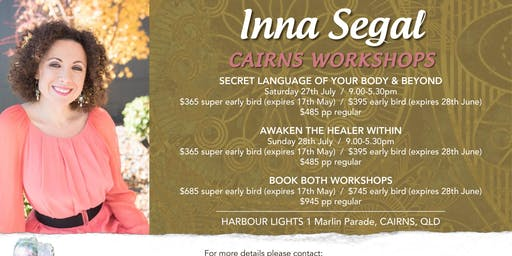 Inna Segal Live in Cairns