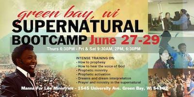Green Bay WI, Supernatural Bootcamp