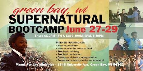 Green Bay WI, Supernatural Bootcamp  entradas