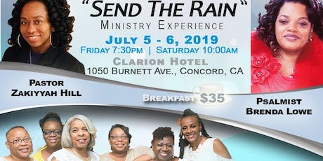 Wailing Warriors Women's Ministries Presents...Send The Rain Worship Experience and Praise Breakfast tickets