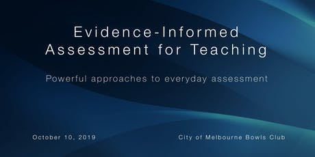 Evidence-Informed Assessment for Teaching tickets