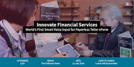FORCS FinTech Conference 2019: Innovate Financial Services tickets