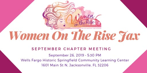 Women on the Rise Jax September Chapter Meeting