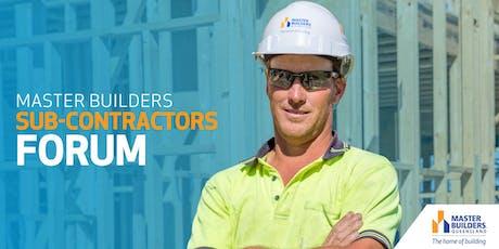 Sunshine Coast Sub-Contractors Forum tickets