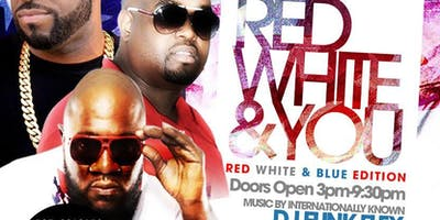 6th Annual RED, WHITE & YOU DAY-PARTY during Essence Festival
