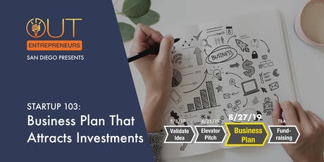 STARTUP 103: Business Plan That Attracts Investments tickets