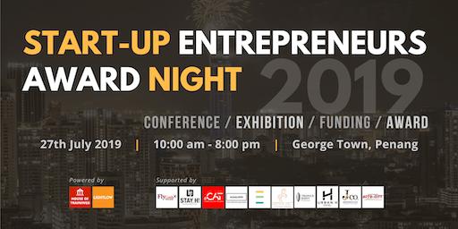 Start-up Entrepreneurs Award Night (SEAN) 2019 (RM98/pax Early Bird)