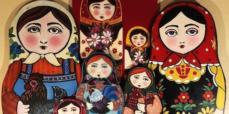 "Fresh Takes on Folk Art: Russian ""Babushka"" Doll tickets"