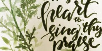Cottage Calligraphy and Illustration Series: Lettering Design 101