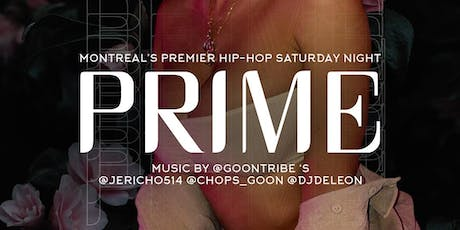 Prime Saturdays tickets