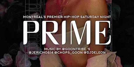 Prime Saturdays tickets