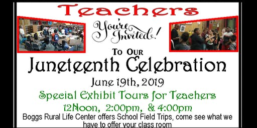 Juneteenth-Freedom Day Celebration at Boggs