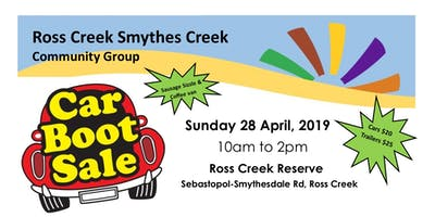 Ross Creek - Smythes Creek Car Boot Sale