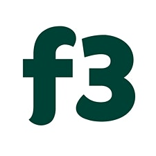 f3 farm. food. future. logo