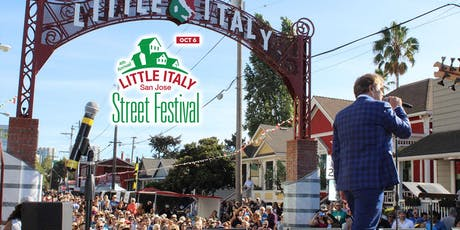 4th Annual Little Italy San Jose Street Festival tickets