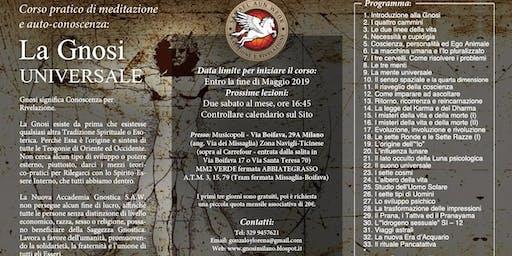 Milano 2019 - Corso di Meditazione: La Gnosi Universale