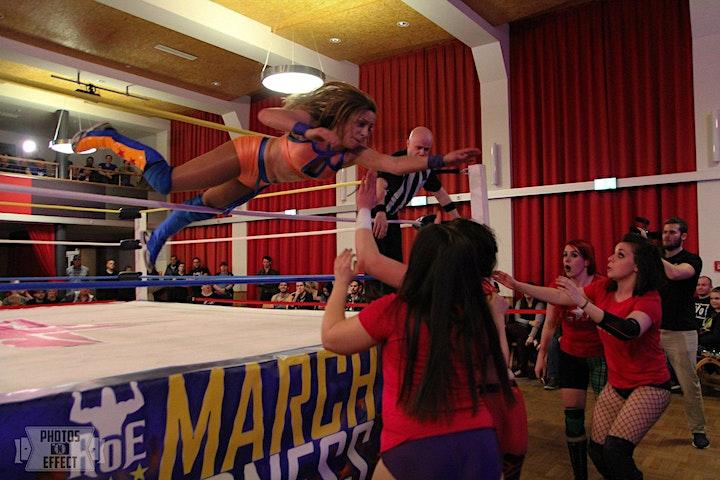 +++ ABGESAGT RoE Pro Wrestling + GLAM! - March Madness ´ 20 ABGESAGT +++: Bild