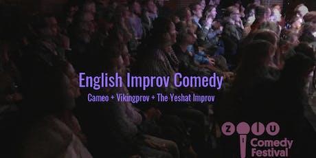 English Improv Comedy // Zulu Comedy Festival tickets