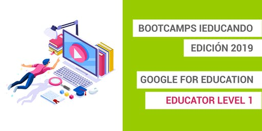 Bootcamps Google for Education Level 1 - Málaga