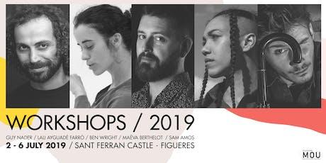 Festival Figueres es MOU 2019 AGITART Professional Workshops  entradas