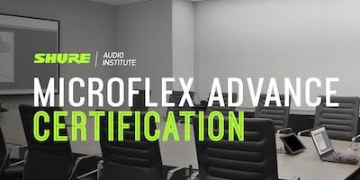 Shure Microflex Advance Certification at Audiologic