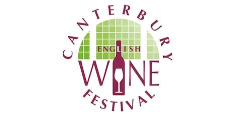 Canterbury Wine Festival™ showcasing award-winning Kent wines tickets
