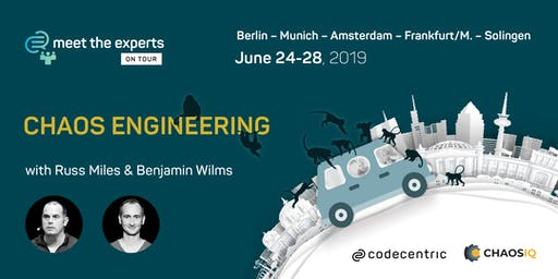 Meet the Experts on Tour: Chaos Engineering (Amsterdam)