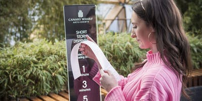 Swap Smartphone Scrolling For ****-Size Reads With Canary Wharf's Short Story Stations