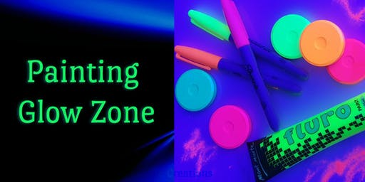Glow In the Dark Painting- School Holiday Program