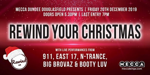 REWIND YOUR CHRISTMAS Dundee Douglasfield feat Bonkers Bingo