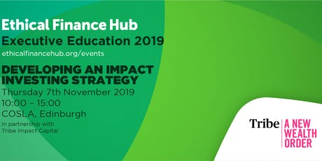 Workshop - Developing an Impact Investing Strategy tickets