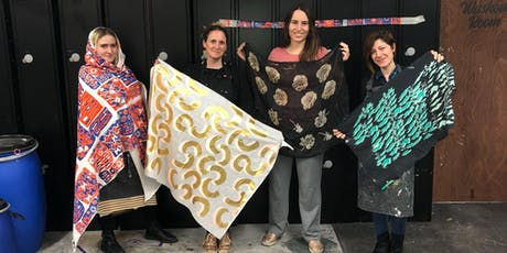 Intermediate Fabric Screen Printing Course tickets