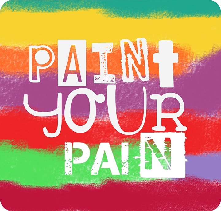 'Paint Your Pain'  Artist specific seminar & hands-on workshop image