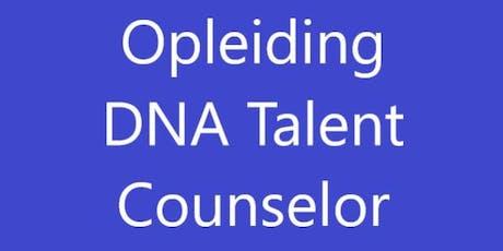 Opleiding DNA Talent Counselor 16-18 Oktober 2019 Soestduinen tickets