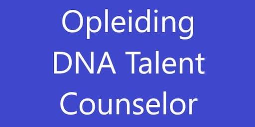 Opleiding DNA Talent Counselor 16-18 Oktober 2019 Soestduinen