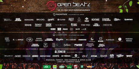 Open Beatz Festival 2019 Tickets
