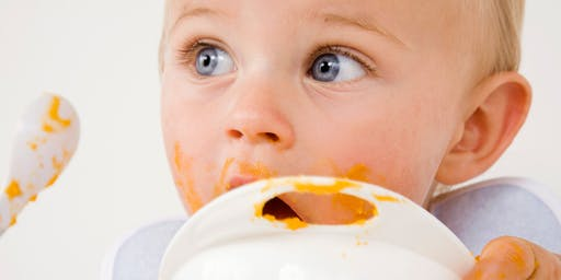 Baby Weaning Class (Bring your Baby!)- June 25th