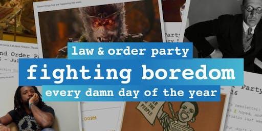 法律和秩序签署方