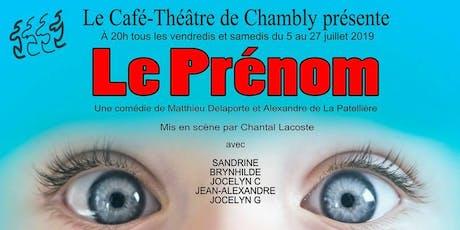 Le Prénom tickets