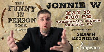 Jonnie W - Funny In Person | Norfolk, VA