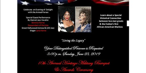 10th Annual National Heritage Military Banquet & Awards Ceremony