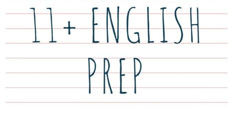 Intensive 11+ English Prep tickets