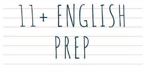 Intensive 11+ English Prep tickets