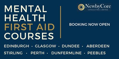 Mental Health First Aid Training - Stirling