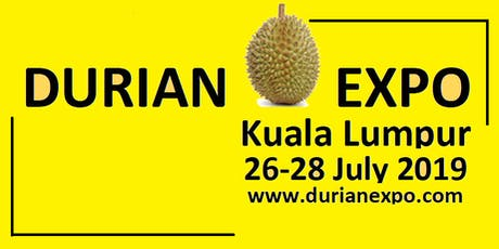 Starting your Durian Plantation by Lim Chin Khee 26/7/2019 @DurianExpoKL tickets