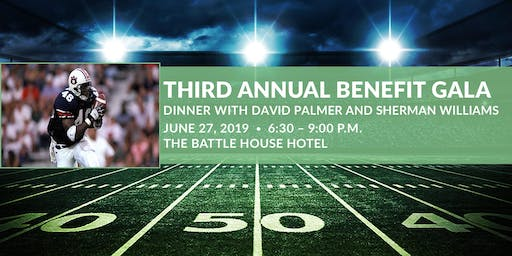 Third Annual Benefit Gala: Dinner with David and Sherman