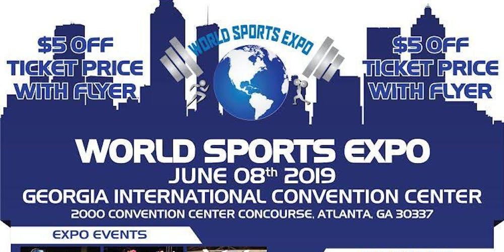 fa0d92c98575 WORLD SPORTS EXPO Tickets
