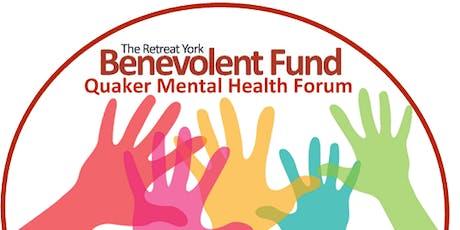Quaker Mental Health Forum: mental health in community tickets