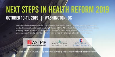Next Steps in Health Reform 2019